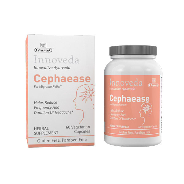 Cephaease - Herbal supplement for migraine relief